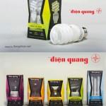 Thiết kế bao bì bóng đèn Điện Quang