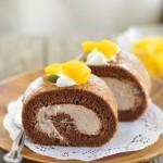 Cách làm hộp quà tặng bánh cuộn chocolate cho Valentine thêm ngọt ngào