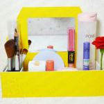 Bạn đã biết cách làm hộp đựng đồ trang điểm siêu xinh chưa?