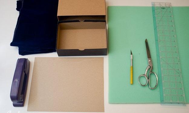 Tự tay làm hộp đựng phụ kiện trang sức đơn giản tiện lợi.