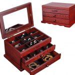 Hộp gỗ nhỏ có khóa đựng đồ trang sức cá nhân