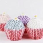 Làm hộp quà tặng hình bánh cupcake