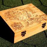 Hộp gỗ nhỏ có khóa- nơi cất giữ bí mật nhỏ