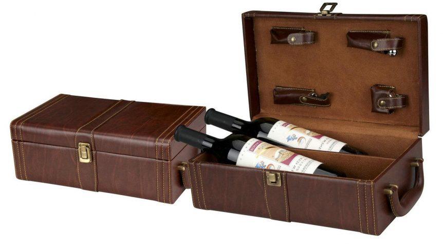 Tôn vinh nét đẹp thưởng thức rượu với hộp rượu sang trọng