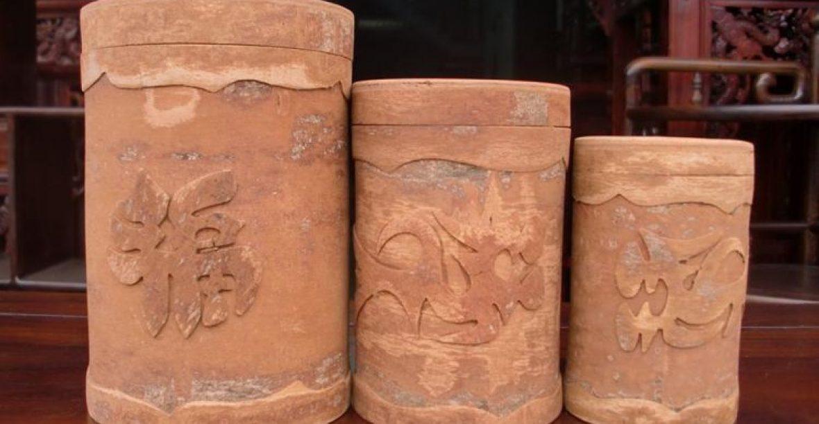Hộp đựng trà bằng gỗ chứa đựng tinh hoa văn hóa thưởng thức trà