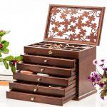 Hộp đựng trang sức bằng gỗ- tôn vinh nét đẹp người phụ nữ