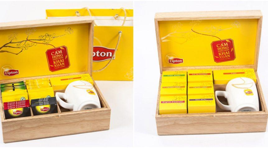 Ngày tết thêm phần ý nghĩa với hộp trà lipton cao cấp
