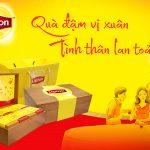 Hộp quà tết lipton cao cấp gắn kết yêu thương ngày tết